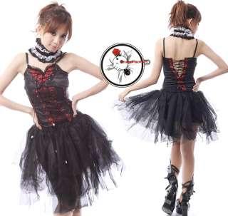 Gothic Princess SPIKE Lace EGL Party Visual Kei Skirt