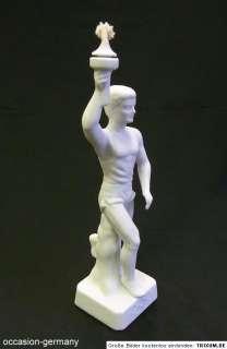 Art Deco. Olympischer Fackelträger Modell 12594, Seltmann Weiden
