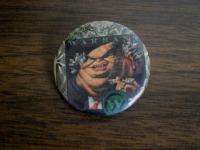 Vintage WARRANT Pinback BUTTON Pin 80s HAIR Rock BAND