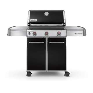 Weber Genesis E 310 3 Burner Natural Gas Grill in Black 6611001 at The