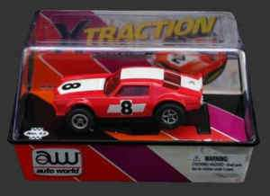 AW 71 Racing Camaro Red HO Slot Car