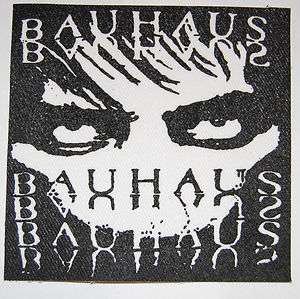 BAUHAUS death rock gothic batcave punk Peter Murphy the cure JACKET