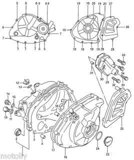 Edelstahl Schrauben Inbus Motor Suzuki DR 600 S R DR600