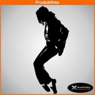 Wandtattoo Michael Jackson King Of Pop XXL