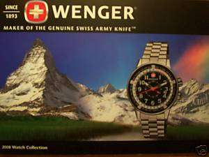 WENGER WATCH GUIDE! MILITARY RACE CAR NAVY SEAL DIVER