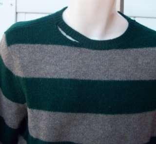 Ralph Lauren Mens Rugby destroyed sweater large nwt $98