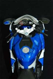 12 SUZUKI GSX R1000 Diecast Racing Street Bike Blue