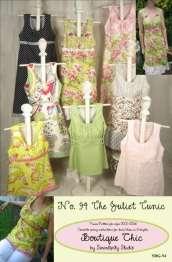 Schnittmuster Tunika und Kleid Juliet, Gr. XXS XXL
