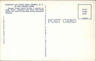 GENEVA NY Sampson Air Force Base Old Postcard
