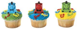 THOMAS The TRAIN and FRIENDS CUPCAKE RINGS PARTY FAVORS