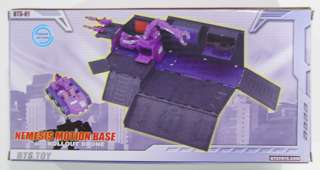 Transformers BTS Classics Optimus Prime Purple Trailer