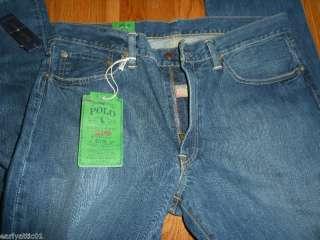 Mens Polo Ralph Lauren Slim Straight 018 Blue Jeans