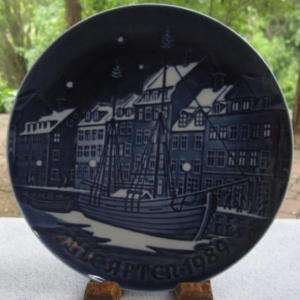 Bing & Grondahl Christmas Plate Anchorage, 1989 MIB