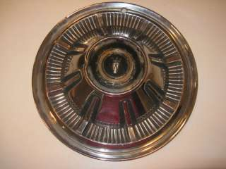 VINTAGE CHEVY CADDY FORD CHRYSLER HUB CAP WHEEL COVER
