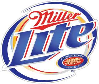 Miller Lite Beer Alcohol Bar Bumper Sticker Decal 5X4