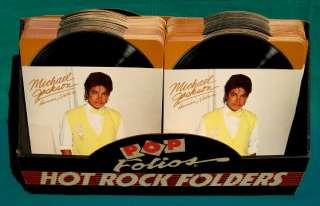 Michael Jackson 1983 full store display POP FOLIOS