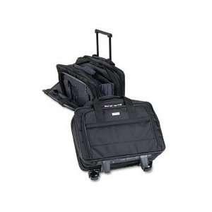SOLO® Ballistic Nylon Wheeled Notebook Computer Case