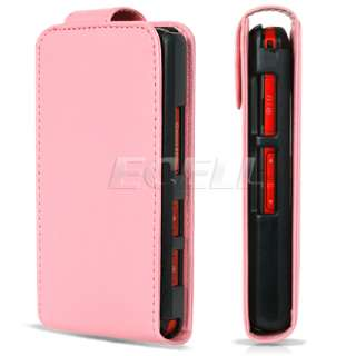 Ecell Style Range   Luxury Leather Case for LG KP500 & KP501 Cookie