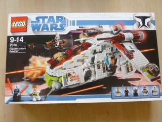 LEGO Star Wars 7676   Republic Attack Gunship NEUWERTIG & OVP