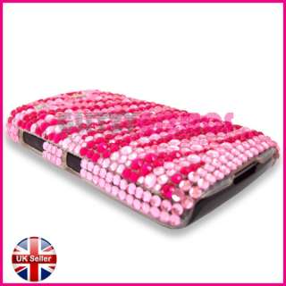 BLING DIAMOND CRYSTAL GLITTER COVER CASE FOR BLACKBERRY PEARL 3G 9105