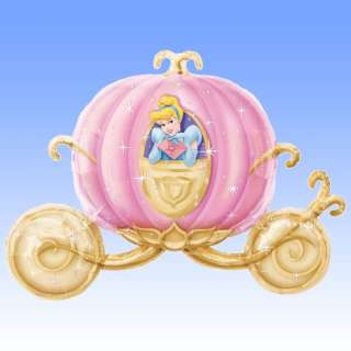 Supershape Foil Balloon Disney Princess   Carriage