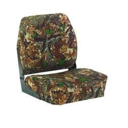 WISE HUNTING FISHING FOLD DOWN CAMO DUCK BOAT SEAT NEW |