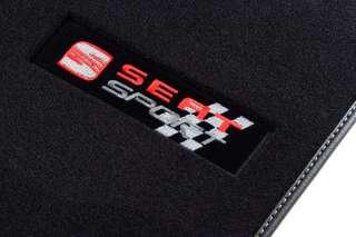 4 TAPIS VELOUR SEAT SPORT LEON II 1P DEPUIS 2005 FR R
