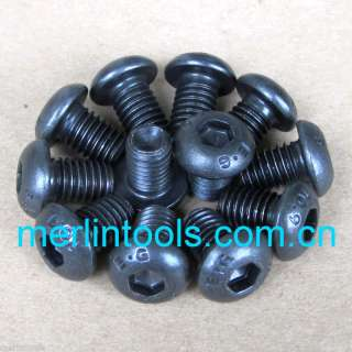 12Pcs Allen Button Dome Socket Head Screw M3 M4 M5
