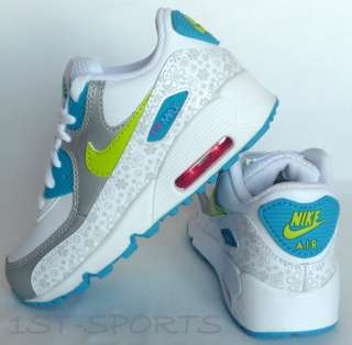 new product ef6a0 4f787 ... NEW INFANT, GIRLS NIKE AIR MAX 90 WHITE TRAINERS, SHOES ...