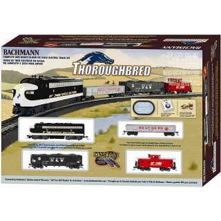 Bachmann Thoroughbred Ho Scale Electric Train Set   Bachmann 1012401
