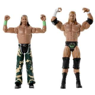 WWE Series 4 Action Figure 2 Pack   D & Generation X   Mattel 1001134