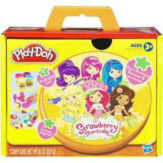 Play Doh Playset   Strawberry Shortcake   Hasbro 1001119   Clay