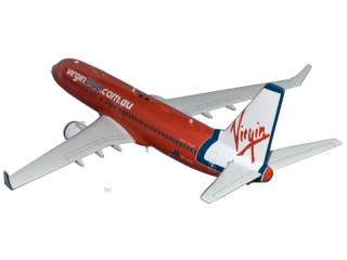 Boeing 737 800 Virgin Blue (Red Livery) Airplane Model
