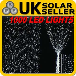 18M 100 LED Multi color Solar Fairy Lights Garden Xmas