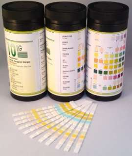 DOCTOR/GP 10 PARAMETER URINE REAGENT STRIP TESTS (100) 5060181589607