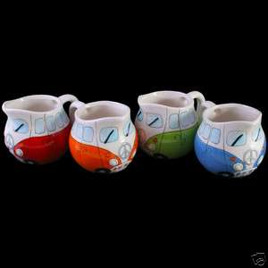 CAMPER VAN MILK JUG 4 DESIGNS TO CHOSE FROM