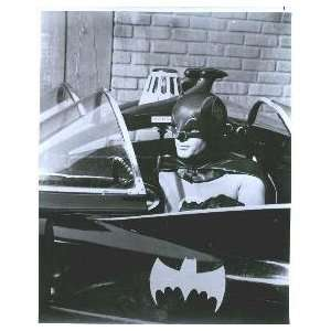 BATMAN & ROBIN BATMAN ADAM WEST IN BATMOBILE 8X10 PHOTO
