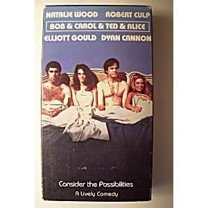 Bob & Carol & Ted & Alice [VHS] Natalie Wood, Robert Culp
