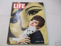 1966 MARCH LIFE MAGAZINE   BARBRA STREISAND   I 2086