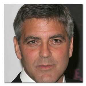 George Clooney Color Box Canvas Print Gallery Wrapped 1