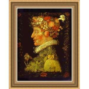 Spring by Giuseppe Arcimboldo   Framed Artwork:  Home