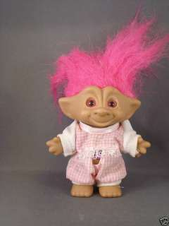 Ace Novelty Troll Doll with Pink Jewel on Belly