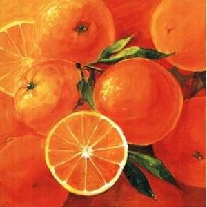 Orangen   Poster by Inna Panasenko (19.5 x 19.5): Home