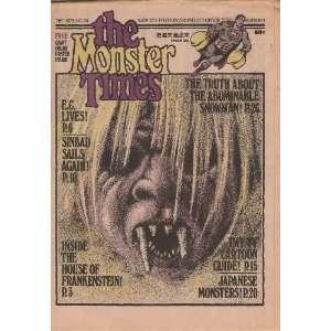 Monster Times   Volume 1 Number 29   December 1973: Joe Kane: Books