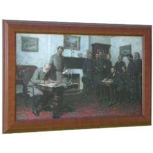 Lovell   ULYSSES S GRANT   ROBERT E LEE   Civil War Framed Art Print