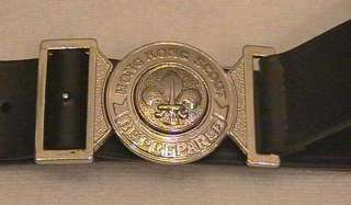Hong Kong Scout Official Uniform Metal Buckle & Belt