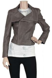 Alice + Olivia Kyle oversized collar leather jacket   60% Off Now at