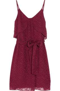 Vanessa Bruno Athé Embroidered silk and cotton blend dress   65% Off