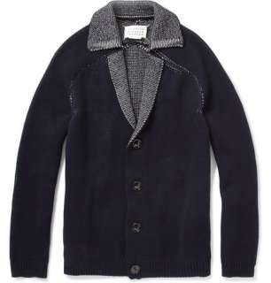 Maison Martin Margiela Open Stitch Wool Blend Cardigan  MR PORTER