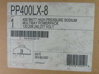 PP400LX 8 Genlyte High Pressure Sodium 400w Power Pack